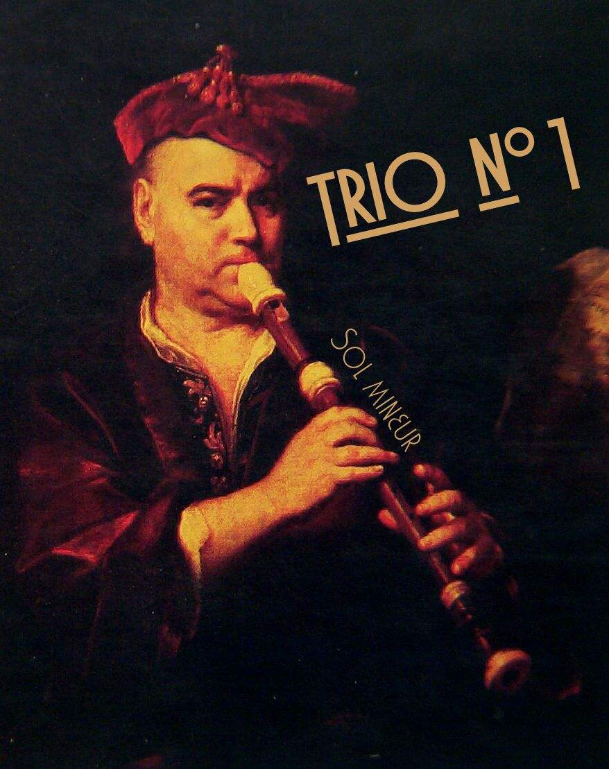 Chauvet, Alexis: Trio no.1 for Recorder, Guitar and Cello