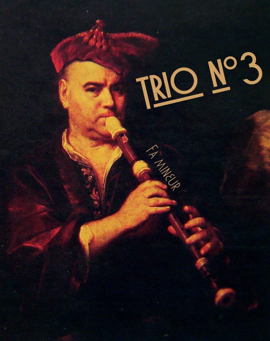 Chauvet, Alexis: Trio no.3 for Recorder, Guitar and Cello