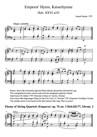 Emperor's Hymn, Kaiserhymne