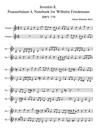 Bach, Johann Sebastian: Invention 8, Praeambulum 4