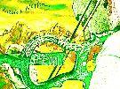 lades violon electrique vert