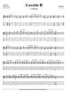 Gavotte II (arr. for solo charango)