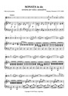 SONATA IN C, version for Viola and piano, from the original for flute