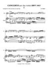 DOUBLE VIOLIN CONCERTO in D minor
