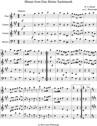 Minuet from Eine Kleine Nachtmusik