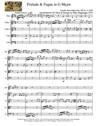 Prelude & Fugue in G Major for Oboe & Strings