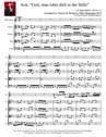 """Aria: """"Gott, man lobet dich in der Stille"""" for Clarinet & Strings"""