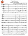 """Kyrie Eleison"" from the Mass in B Minor for String Quintet"