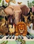 """Saint-Saens, Camille: """"Le Carnaval des Animaux"""" Mouvement 5 (L'éléphant)"""