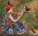 "Traditional: ""The Old Orange Flute"" for Flute Ensemble"
