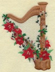 """Murray, James Ramsey: """"Away in the Manger"""" a Character Piece for Harp"""
