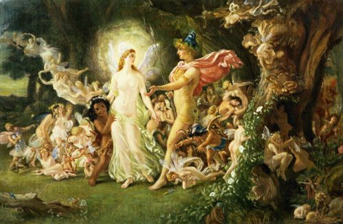 """Traditional: """"The King of the Faeries"""" for Flute & Harp"""