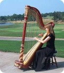 """Hotteterre, Jacques-Martin: Air from """"La Noce Champêtre"""" for Harp"""