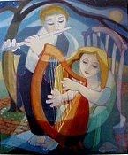 """Traditional: """"The Old Rambler"""" for Flute & Harp"""