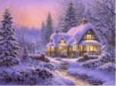 """Traditional: """"Snow Falls Soft in the Night"""" for Viola & Piano"""