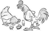 """Saint-Saens, Camille: """"Chickens & Hens"""" from the """"Carnival of the Animals"""" for Strings"""
