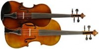 Bach, Johann Sebastian: Gavotte from the French Suite No. 4 in Eb Major for Violin & Viola
