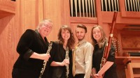 Bach, Johann Sebastian: Allemande from the English Suite No. 2 in A Minor for Double Reed Quartet