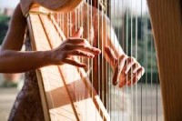 Bach, Johann Sebastian: Allemande from the French Suite No. 6 in E Major for Harp