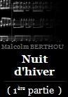 Berthou, Malcolm: Nuit d'hiver