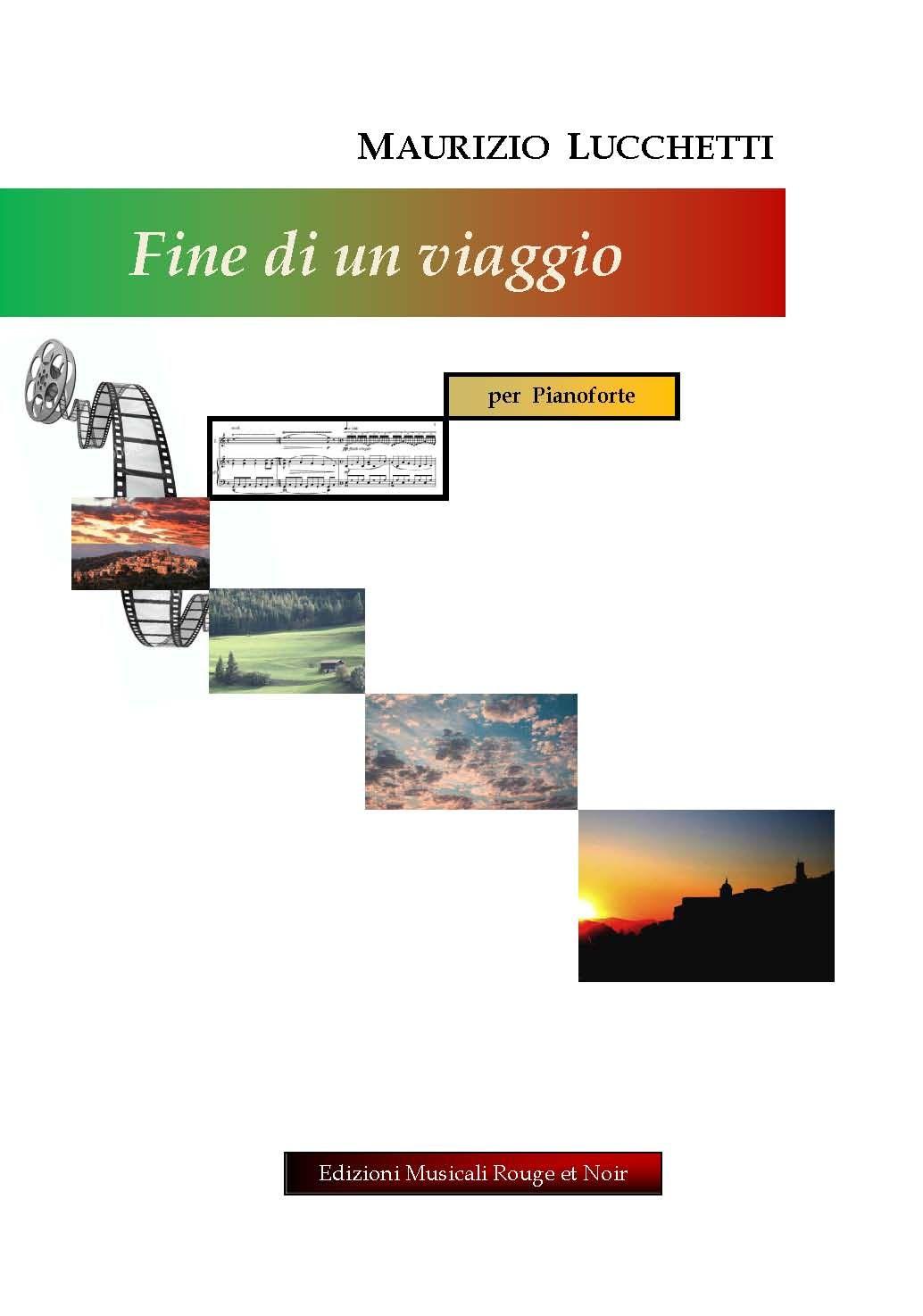 Lucchetti, Maurizio: FINE DI UN VIAGGIO piano solo