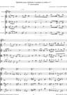 Quintette pour clarinette et cordes n°1 ~ 4° mouvement