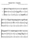 Sonate No 4 - Canario