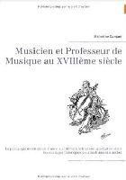 Musicien et professeur de musique au 18ème siècle