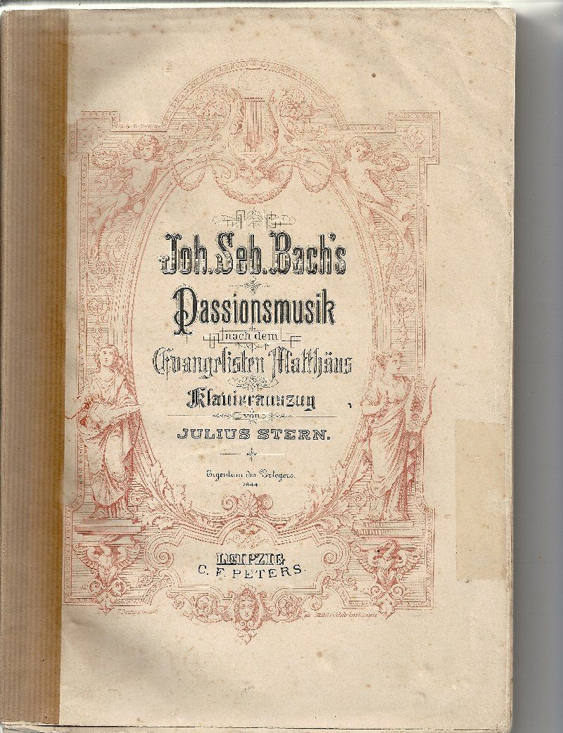 Bach, Johann Sebastian: St Matthew Passion BWV 244 No. 75-76