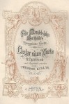 Mendelssohn Bartholdy, Felix: Romances sans paroles Op.66 N°32 ( Illusions perdues )