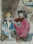 Bach, Johann Sebastian: 15 Inventions à 3 voix N°14 ( bois )