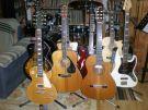 my Guitars in the teaching room