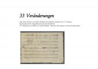 Beethoven, Ludwig van: 33 Veränderungen über einen Walzer von Anton Diabelli