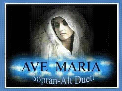 Erik Imre Nagy: Ave Maria Sopran - Alt Duett with Orgel