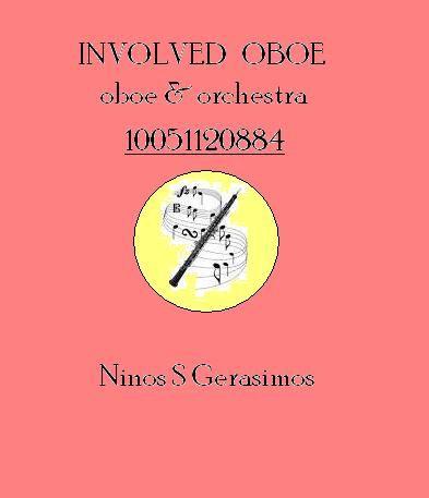 NINOS S GERASIMOS: INVOLVED OBOE