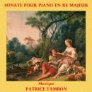 Tambon, Patrice: Sonate pour piano en ré majeur