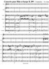 Concerto pour flûte et harpe K299