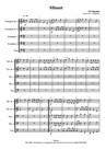 Minuet pour 2 Trompettes, 2 Trombones et 1 Tuba.
