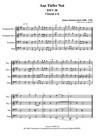 Choral n°6, BWV38, pour 2 Trompettes, 1 Trombone et 1 Tuba.