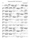 Pianoconcert BWV 1054 deel 3 pour piano + quatuor de clarinettes
