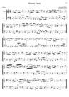 Platti Sonate pour voilon et violoncelle 3