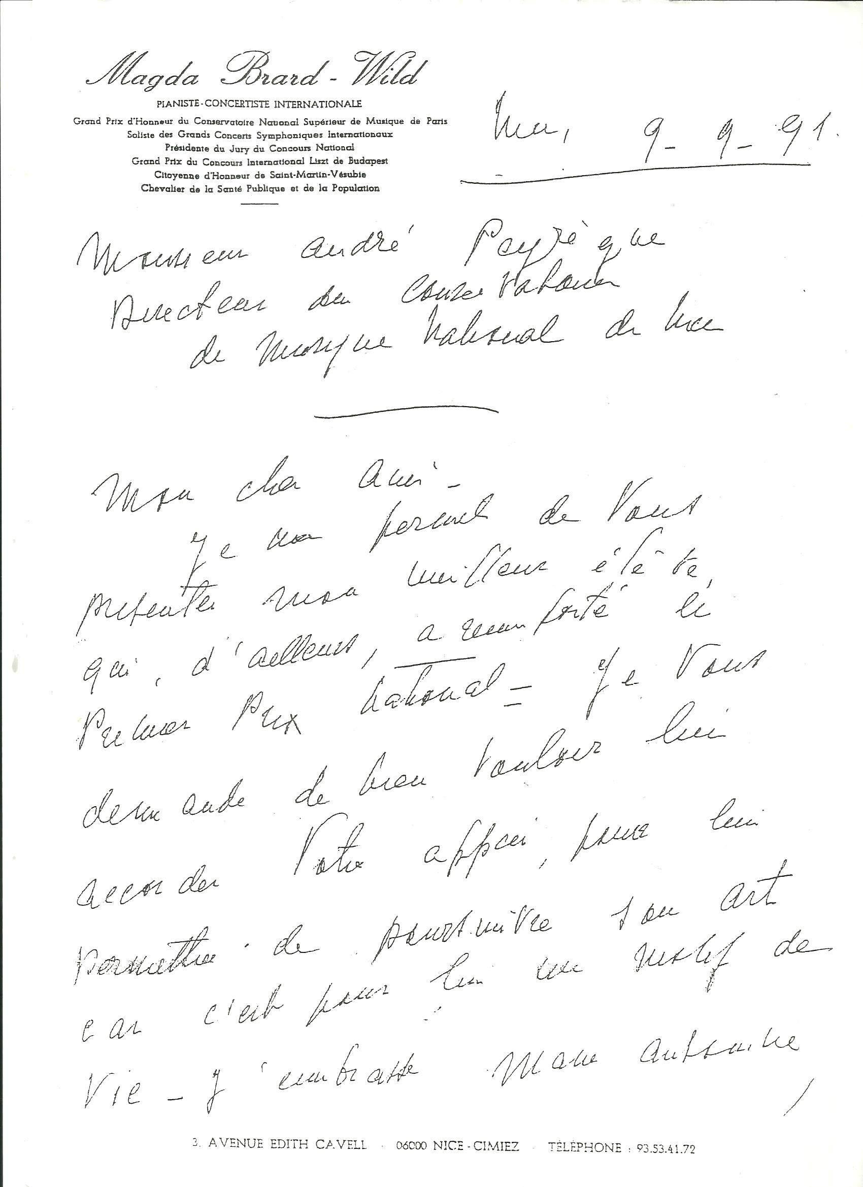 Richard - Bruno RESSEGUIER de Gandels