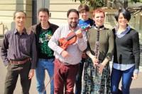 Nichifor, Serban: KLEZMER DANCE pour Clarinette en Si b, Quatuor a Cordes, Tambourine ad lib. et Piano