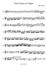 Violin Partita in G Major