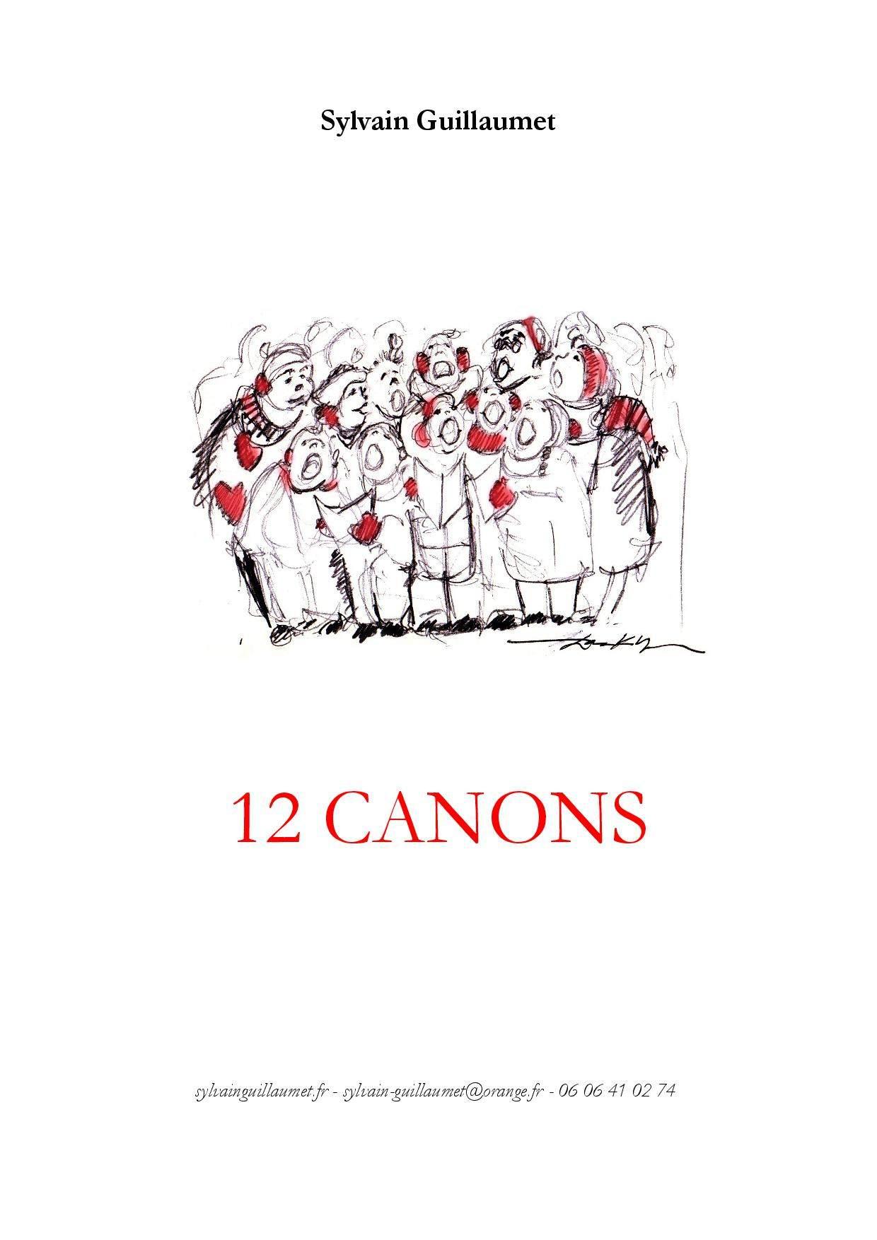 Guillaumet, Sylvain: 12 canons