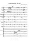 Composition pour big band
