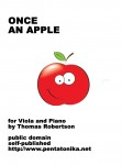 Robertson, Thomas: Once an Apple