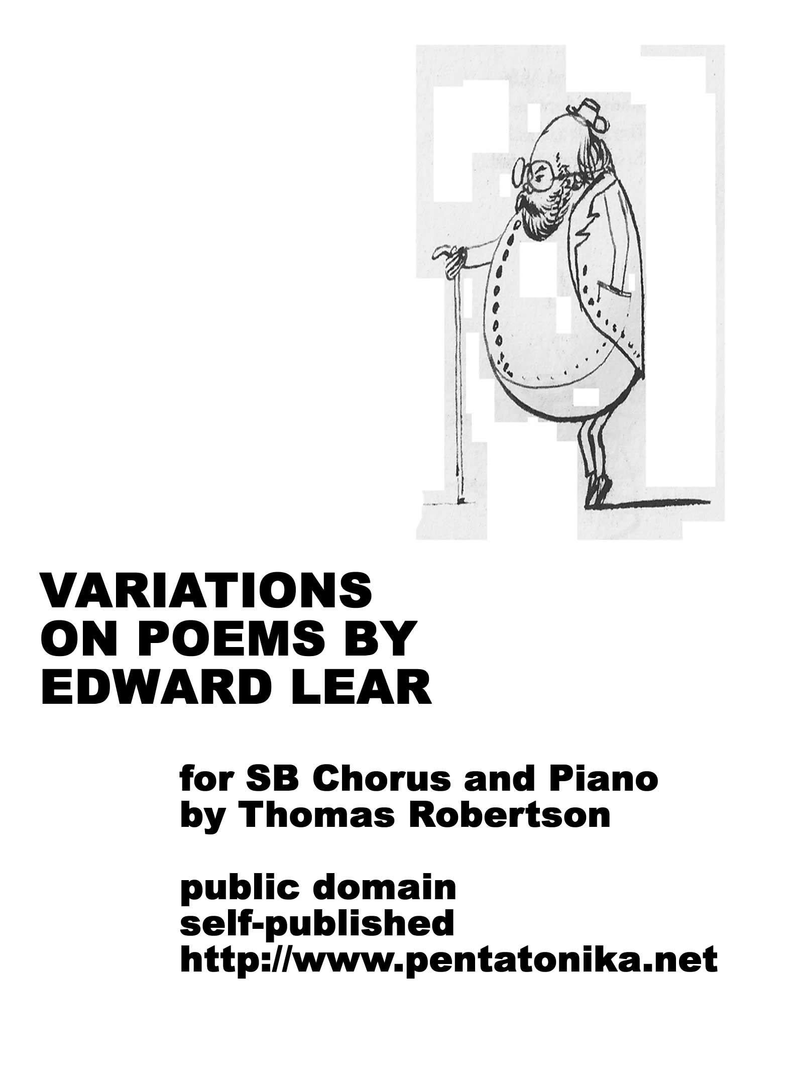 Robertson, Thomas: Variations on Poems by Edward Lear