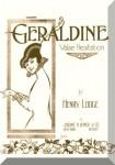 Lodge, Henry: Geraldine