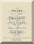 Küffner, Joseph: Bolero